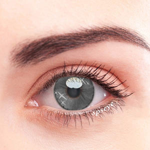 SPSeye Doji Star Grey Colored Contact Lenses