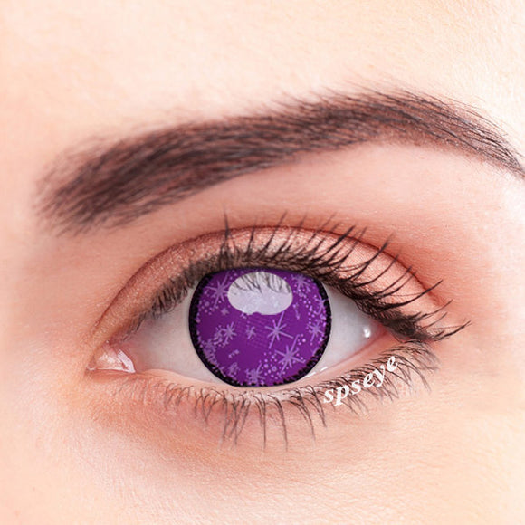 SPSeye Galaxy Purple Mesh Colored Contact Lenses