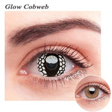 SPSeye Glow Cobweb Colored Contact Lenses