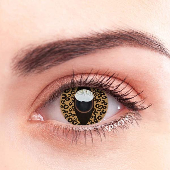 SPSeye Glow Leopard Colored Contact Lenses