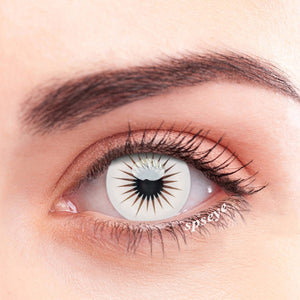 SPSeye Laser White Colored Contact Lenses
