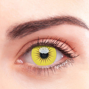 SPSeye Laser Yellow Colored Contact Lenses