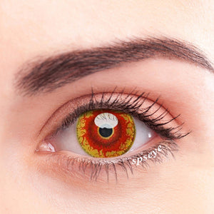 SPSeye Magma Red Colored Contact Lenses