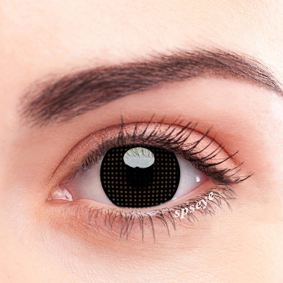 SPSeye Meshy Black Colored Contact Lenses