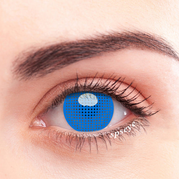 SPSeye Meshy Blue Colored Contact Lenses