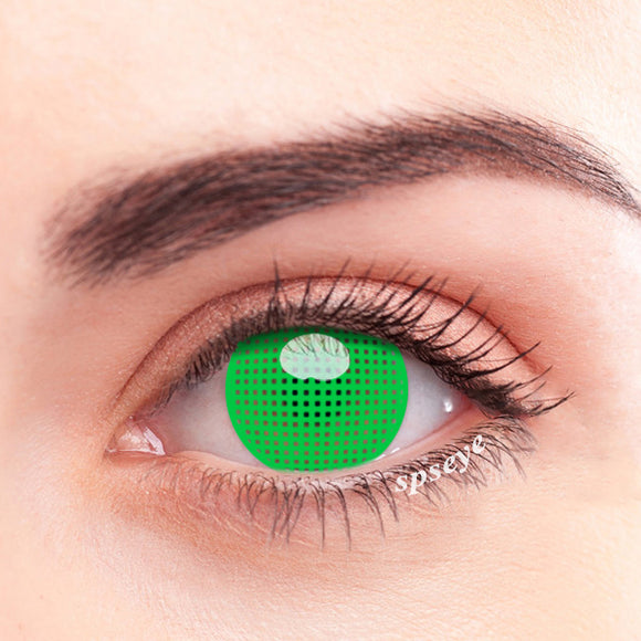 SPSeye Meshy Green Colored Contact Lenses
