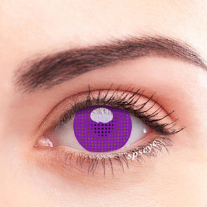 SPSeye Meshy Purple Colored Contact Lenses