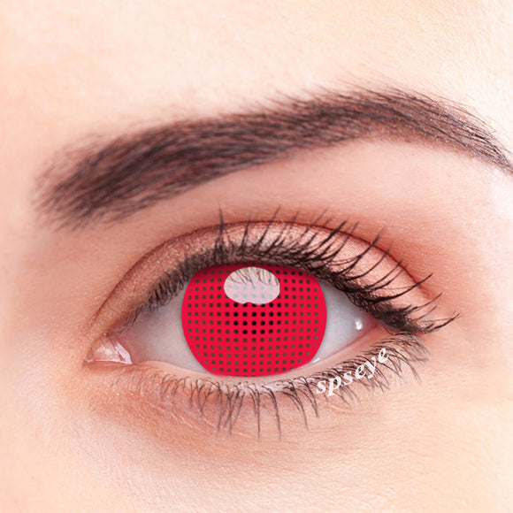 SPSeye Meshy Red Colored Contact Lenses