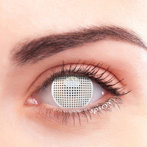 SPSeye Meshy White Colored Contact Lenses