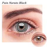 SPSeye Pain Naruto Black Colored Contact Lenses