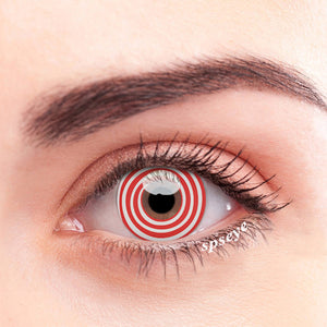 SPSeye Pain Naruto Red Colored Contact Lenses