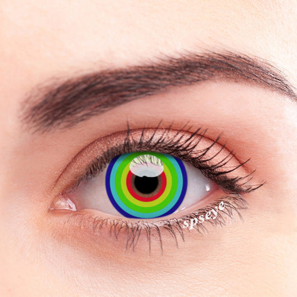 SPSeye Rainbow Circle Colored Contact Lenses