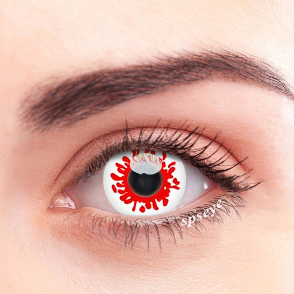 SPSeye Red Antenna Colored Contact Lenses