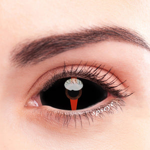SPSeye Red Compass Black Colored Contact Lenses
