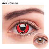 SPSeye Red Demon Colored Contact Lenses