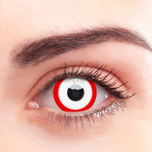 SPSeye Red Gadget Colored Contact Lenses