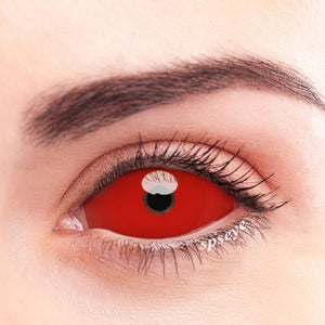 SPSeye Red Sclera Pupil Colored Contact Lenses
