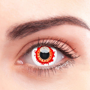 SPSeye Red Flare Colored Contact Lenses