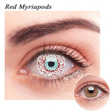 SPSeye Red?Myriapods Colored Contact Lenses