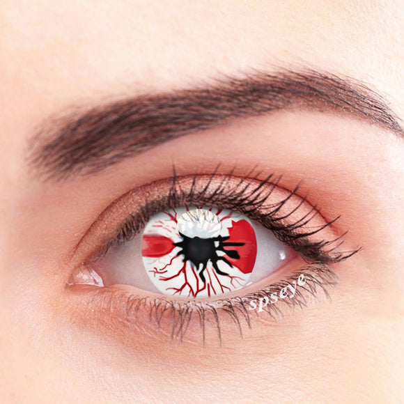 SPSeye Red Spot Colored Contact Lenses