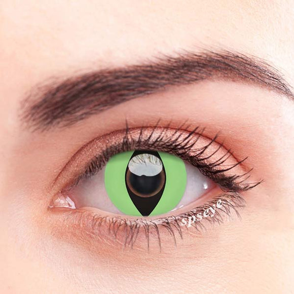 SPSeye Reptile Green Colored Contact Lenses