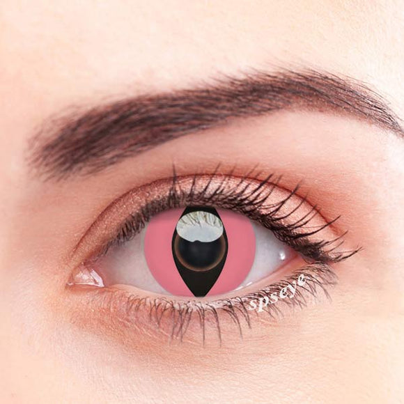 SPSeye Reptile Pink Colored Contact Lenses