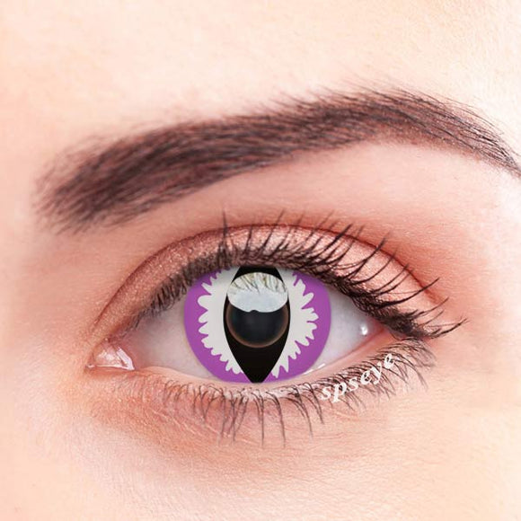 SPSeye Reptile Purple Colored Contact Lenses