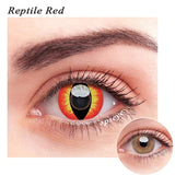 SPSeye Reptile Red Colored Contact Lenses