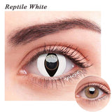 SPSeye Reptile White Colored Contact Lenses