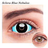 SPSeye Sclera Blue Nebulos Colored Contact Lenses