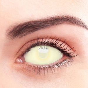 SPSeye Sclera Cream Colored Contact Lenses
