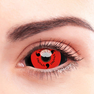 SPSeye Sharingan Red Colored Contact Lenses