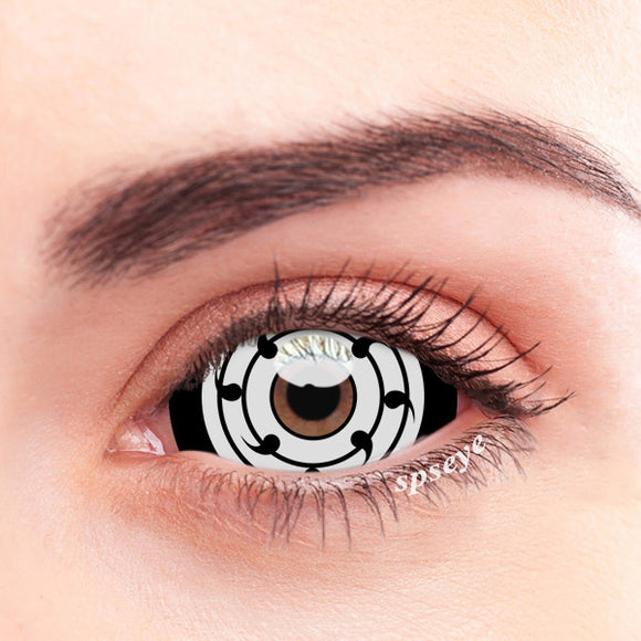 SPSeye Sharingan white Colored Contact Lenses