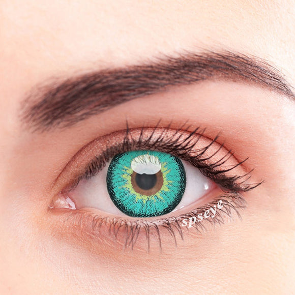 SPSeye Snow Green Colored Contact Lenses
