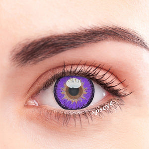 SPSeye Snow Purple Colored Contact Lenses