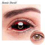 SPSeye Sonic Devil Colored Contact Lenses