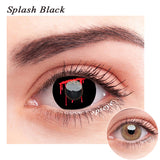 SPSeye Splash Black Colored Contact Lenses
