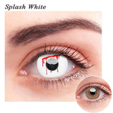 SPSeye Splash White Colored Contact Lenses