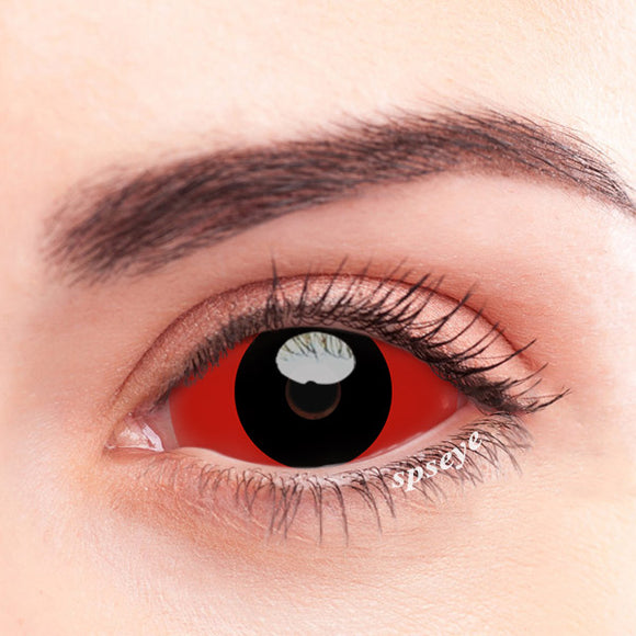 SPSeye Stomata Black Red Colored Contact Lenses