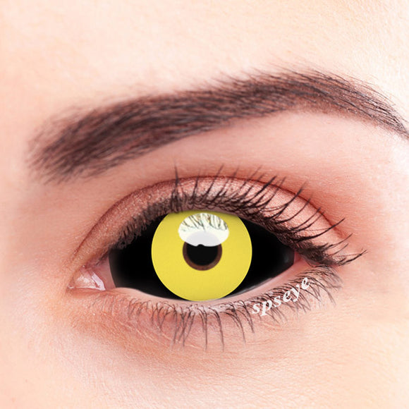 SPSeye Stomata Yellow Black Colored Contact Lenses