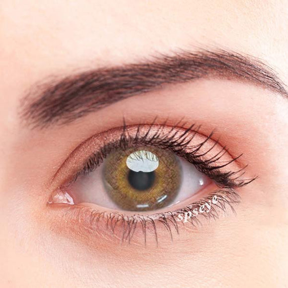 SPSeye Swan Brown Colored Contact Lenses
