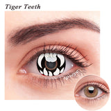 SPSeye Tiger Teeth Colored Contact Lenses