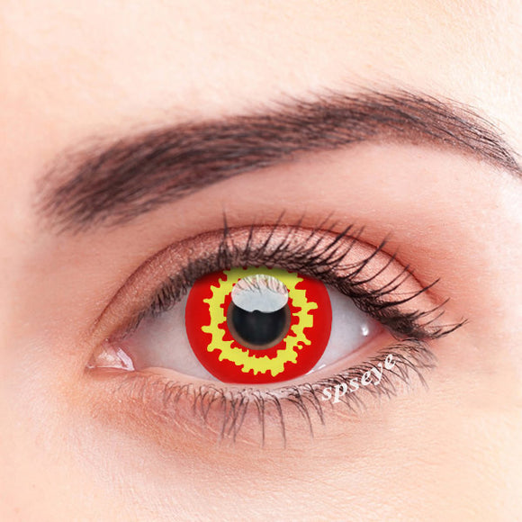 SPSeye Yellow Coral Colored Contact Lenses