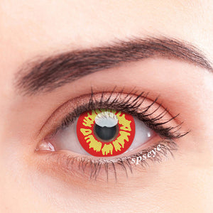 SPSeye Yellow Flame Colored Contact Lenses
