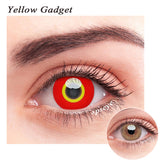 SPSeye Yellow Gadget Colored Contact Lenses