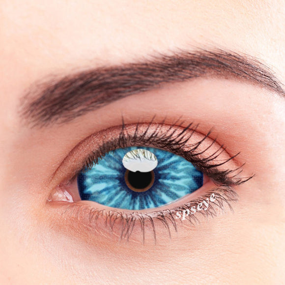 SPSeye Crape Blue Colored Contact Lenses