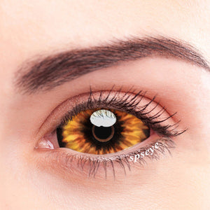 SPSeye Crape Orange Colored Contact Lenses