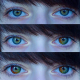 SPSeye Rainbow Colored Contact Lenses