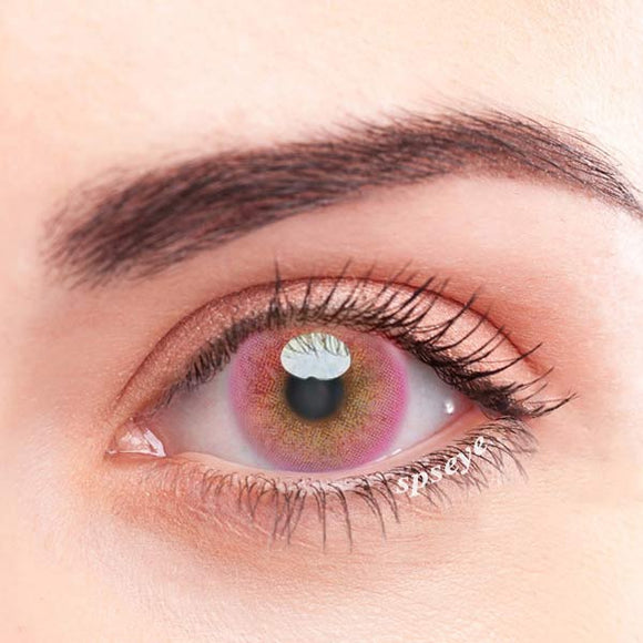 SPSeye Mousse Pink Colored Contact Lenses