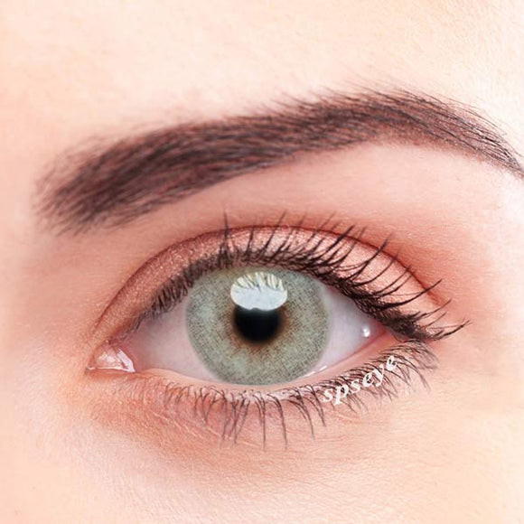 SPSeye Radial Light Green-Grey Colored Contact Lenses